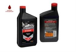 Минеральное моторное масло для двухтактных двигателей Rezoil DYNAMIC - фото 10838