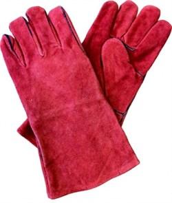 Краги спилковые FoxWeld RED  - фото 12327