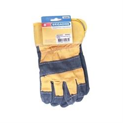Перчатки спилковые Brigadier  - фото 5360