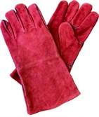 Краги спилковые FoxWeld RED