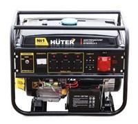 Генератор бензиновый Huter DY8000LX 3 фазы  6.5 кВт
